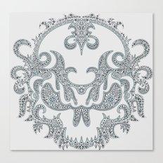 Killer Skull Canvas Print