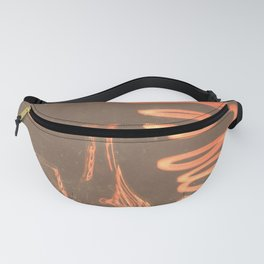Glass and lights Fanny Pack