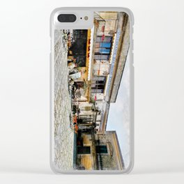 Erice art 4 Clear iPhone Case