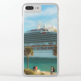 Cruisin Miami South Pointe Clear iPhone Case
