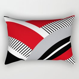 Colorful geometry 12 Rectangular Pillow
