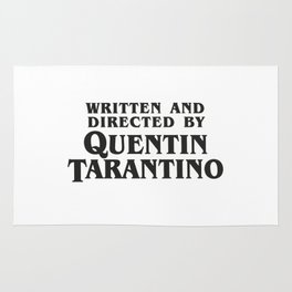 Written and Directed by Quentin Tarantino Rug