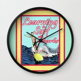 Learning to Surf with Sharks Wall Clock