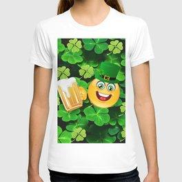 St. Patrick Day Emoticon T-shirt