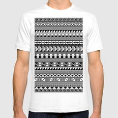 Tribality Andes Mens Fitted Tee SMALL White