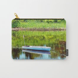 Boat on the Pond Carry-All Pouch