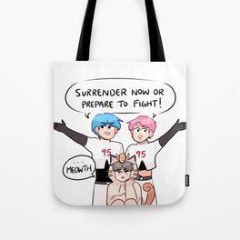 BTS: TEAM 95z + LIL MEOW MEOW Tote Bag