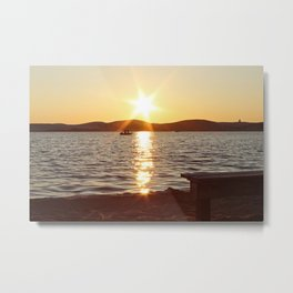 Photo of Silver Lake Metal Print