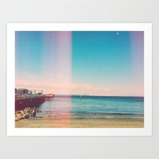 Water in the Light Art Print
