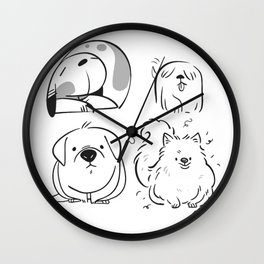 Doges Wall Clock