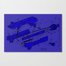 Endoscopic Stapler Canvas Print