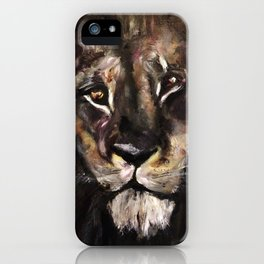 Lion's Gate: Return of the Golden Son iPhone Case