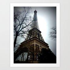 La Tour Eiffel Art Print