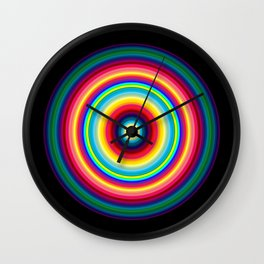 Ellipsed Circle Wall Clock