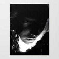 sleep Canvas Prints featuring Sleep by Ruben Ireland