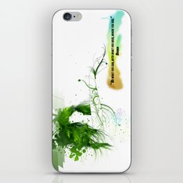 Women with design iPhone Skin