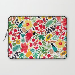 tropical botanical Laptop Sleeve