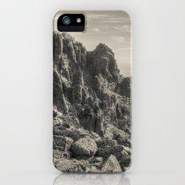 Rocky landscape iPhone Case