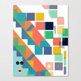 Gumby Does LSD Canvas Print