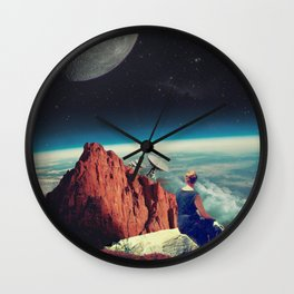 Those Evenings Wall Clock