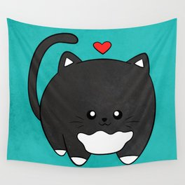 Fat Cat Wall Tapestry