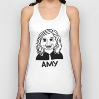 amy poehler Tank Tops featuring Amy Poehler by Flash Goat Industries