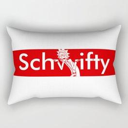 Schwifty Box Logo Rectangular Pillow