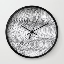 Multiplied Parallel Lines No.: 02. Wall Clock