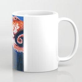 Stretching. Coffee Mug