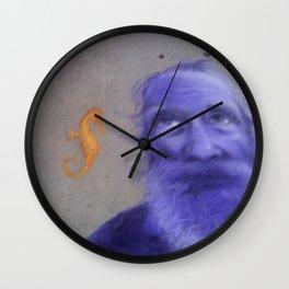 sidewalk art Wall Clock