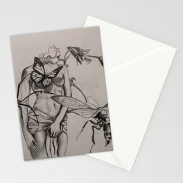 Lady Of The Spring Stationery Cards