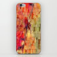 butterfly iPhone & iPod Skins featuring Butterfly   by Aloke Design