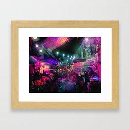 Tunes of the Night Framed Art Print