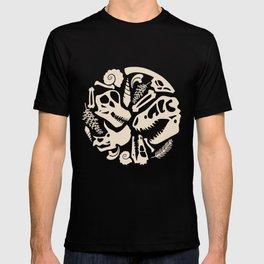 Fossil Pattern T-shirt