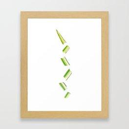 Multiplied Leaf Framed Art Print