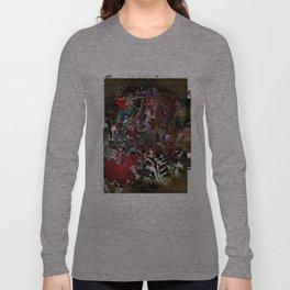 Asemic Graphic Long Sleeve T-shirt