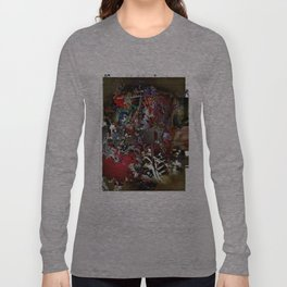 Asemic Graphic Long Sleeve T-shirt