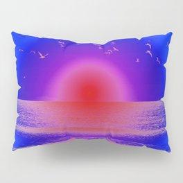Pink Horizon Pillow Sham