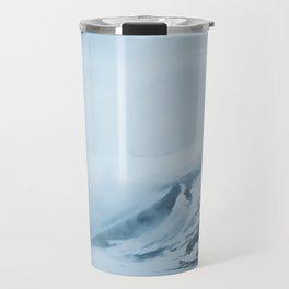 Icey Mountains Travel Mug