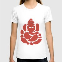 hindu T-shirts featuring Ganesh - Hindu God by ialbert