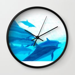 Dolphin Wall Clock