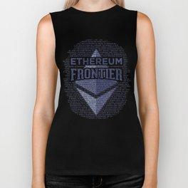 Ethereum Frontier Grunge original Biker Tank