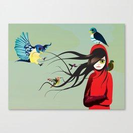 birdseye Canvas Print