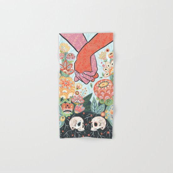 Till Death Do Us Part Hand & Bath Towel