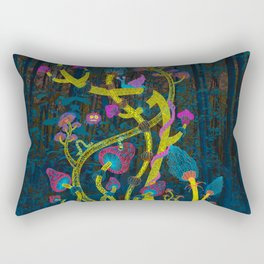 Magic mushrooms Rectangular Pillow