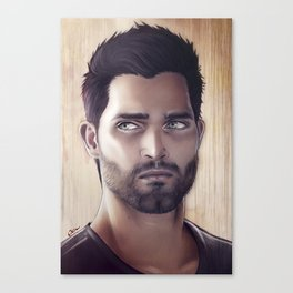 Teen Wolf - Derek Hale V1 Canvas Print