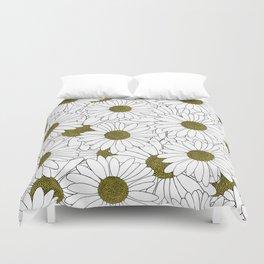 Daisy Yellow Duvet Cover