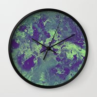 chemistry Wall Clocks featuring Chemistry by Adaralbion