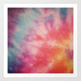 Colour haze Art Print
