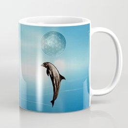 The DOLPHIN - ZEN version Coffee Mug